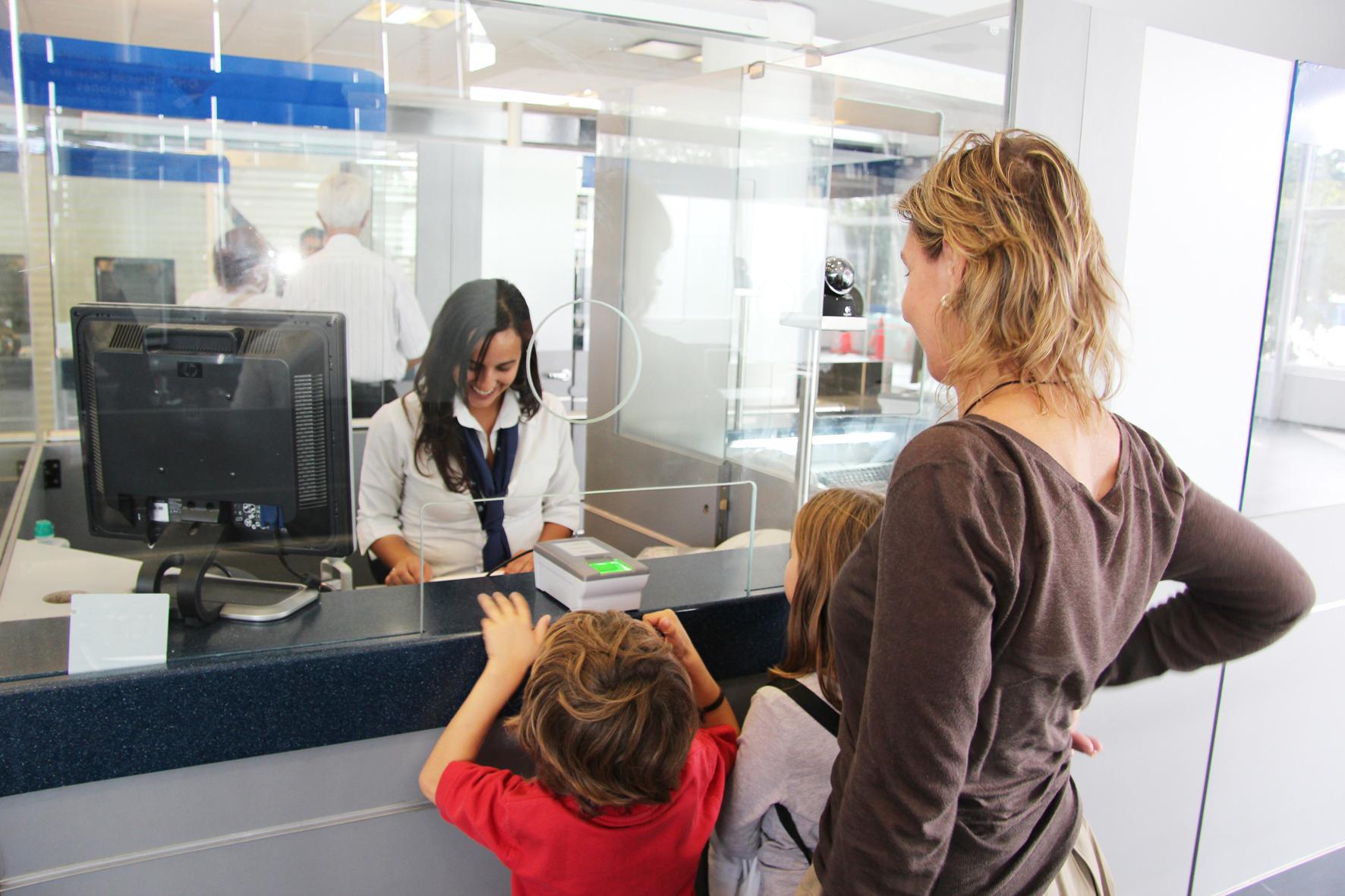 Solicitud de visa americana para menores de edad