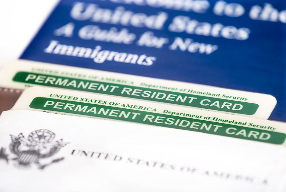 Pérdida del Green Card durante el viaje