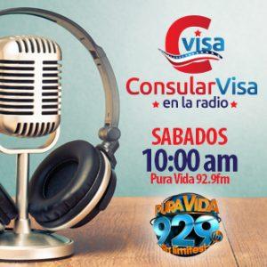Banner consularVisa en la radio